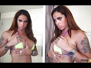 Tranny raquel souza with thirsty ass...