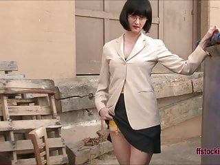 FFstockings – Nice Prim and Proper Lady is too Horny