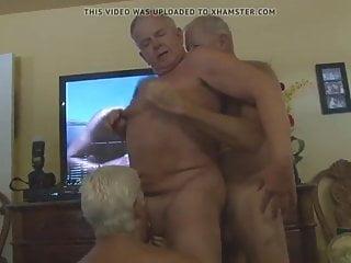 Grandpa love gay groupsex...