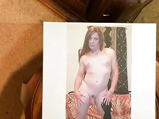Sissy Fag Chelsea gets a Fat Cock Ball Tribute: Read Info