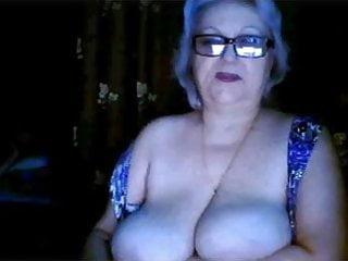 Ex teacher big tits on webcam...