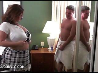 Il suo capo era sotto la doccia