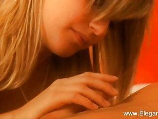 Blonde milf makes love to...