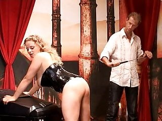 In a studio FemSub) German BDSM (MaleDom