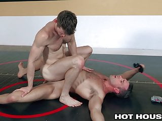 2 For A Fuck Hunks HotHouse RAW Wrestle