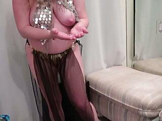 Stepmom plays a harem sex slave home video