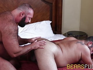 Bear bare impales his partner after intense sixtynine...