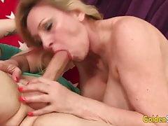 GoldenSlut - Grannies Putting Their Lips to Work Compilation