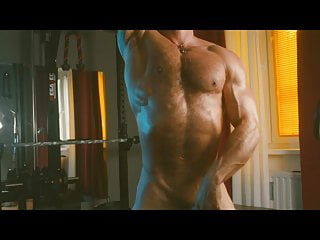 FULL SHOW: Phil Shows His Muscular Body and Cums