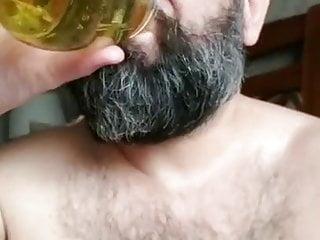 KinkyCubAngel- Tasting my tinkle