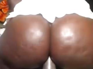 Amateur ebony on webcam...