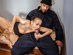 LAW4k. Seductive miss is arrested because of illegal whore