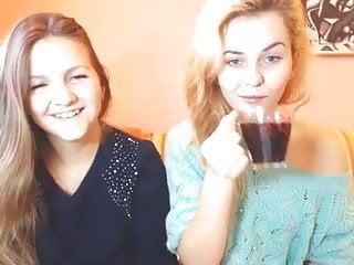 Fingering Lesbian Skinny video: adena x 13022016