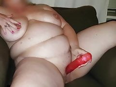 bbw maturbating