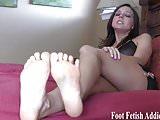 I want to give you a nice footjob