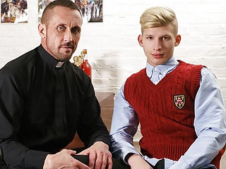 Young Blonde Twink Catholic Altar Boy Fucked By Priest