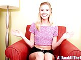 Hot Tall Teen Haley Reed Gets Fucked in Ass for All Anal!