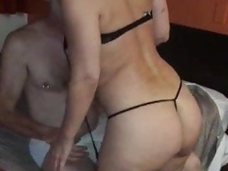 My wife stripping and turned on by another...