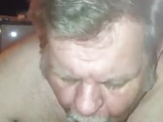 blowjob giving friend his Daddy a