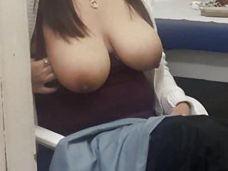 big natural tits amateur flashing