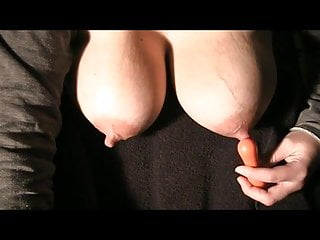 Big MILF and titted squirting dripping milk