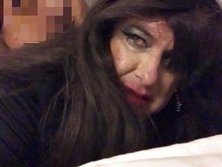 White Sissy Whore Takin BBC