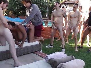 The Swinger Experience Presents busty eboney gngbngd