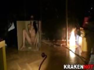 Krakenhot public nudity and submission...