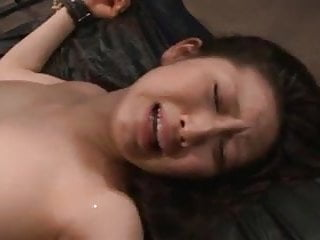Tied up asian girl gets fucked in jail...