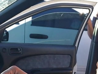 Chubby Young Car date SWALLOWS 2 cumshots on hidden camera