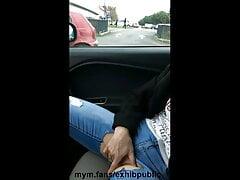 masturbation in public parking