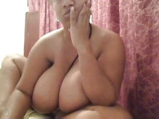 Webcam clip 1457 - Another view of GIGANTIC NATURAL KNOCKERS