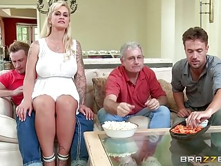Brazzers – My stepmom bought me a stripper