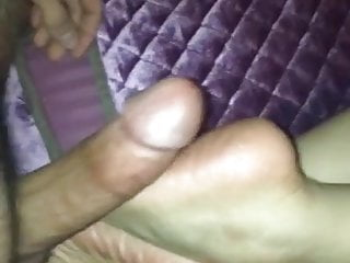Fucking her hot soles