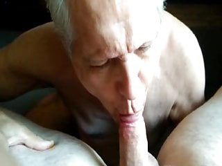 Grandpa lovely sucks dad 039 cock...