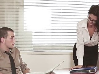 horny office obsession – Alexa Tomas and Joel finding mr Big T