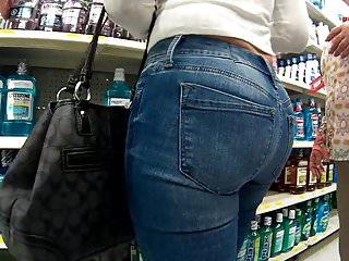 Latina tight jeans...