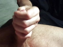Quick Wank Before Sleep Cock Milking Cum Cumshot