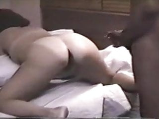 Wife anal creampied by bbc while hubby...