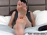 I hear you have a huge fetish for hot feet