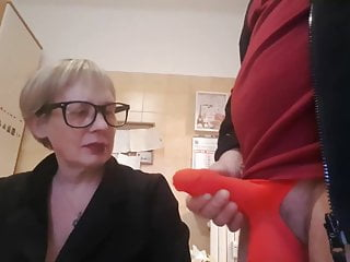 Dickflash to at least one in need of sex terrifying granny