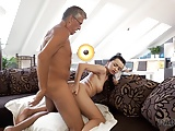DADDY4K. Old man satisfied sexual needs of his sons girlfrie