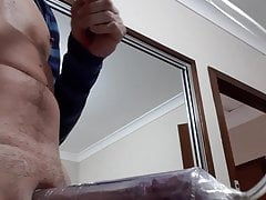 My cock in pump