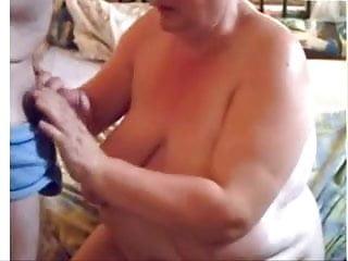 Mature BBW Suck Cock