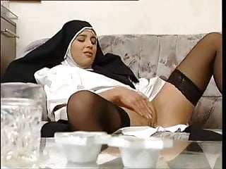 Mommy Fucking and Teen Nun Looking
