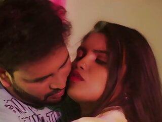 Tamil bhabhi kisses school boy on the lips...