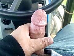 Detente sur le tracteur