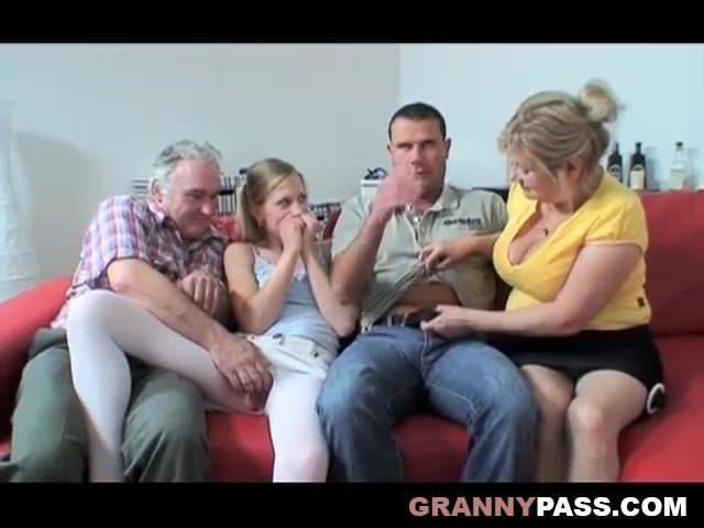 Közös családi szex videó