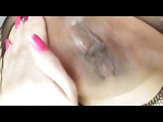 Bitch Selfie Squirt and anal Pantyhose
