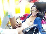 Cute latina tgirl huge dick